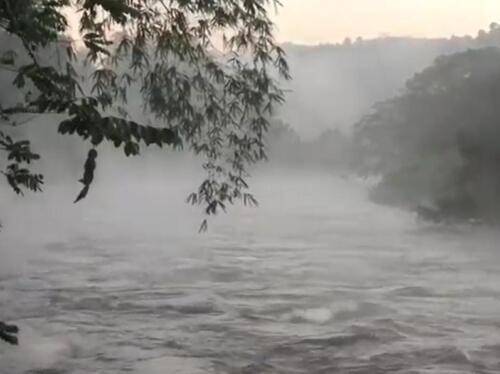 Sudu Ganga during torrential rain