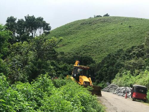 Road rehabilitation Meemure